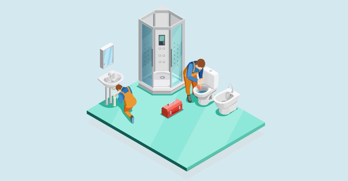 Toilet Plumbing